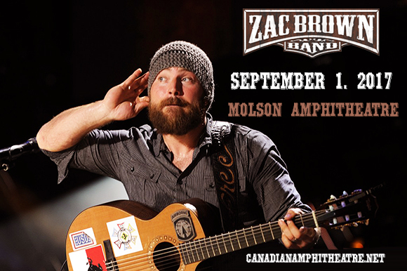 Zac Brown Band at Molson Amphitheatre