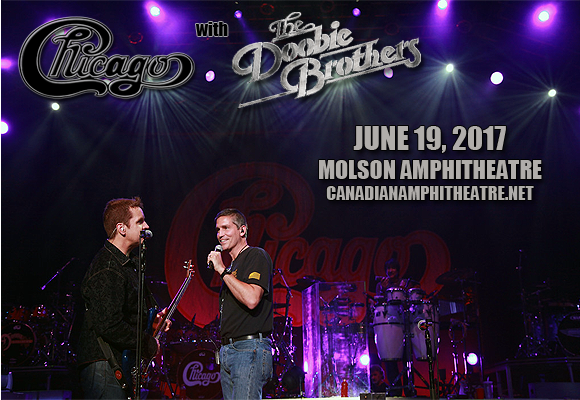 Chicago - The Band & The Doobie Brothers at Budweiser Stage
