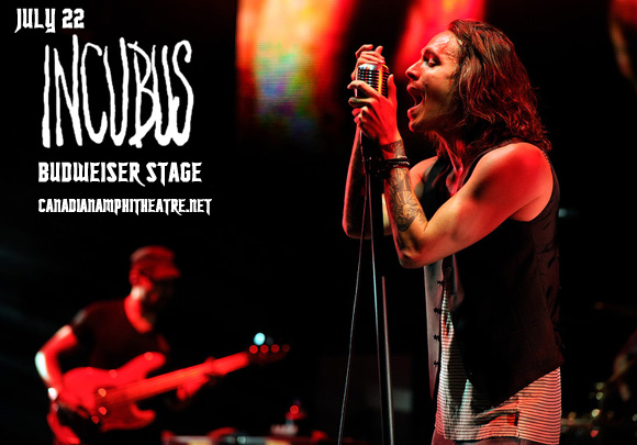 Incubus & Jimmy Eat World at Budweiser Stage