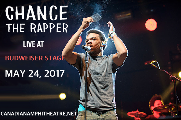 Chance The Rapper at Budweiser Stage