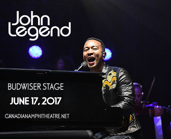 John Legend at Budweiser Stage
