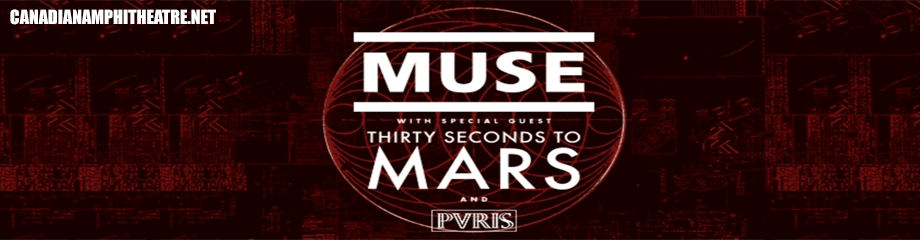 Muse & 30 Seconds To Mars at Budweiser Stage