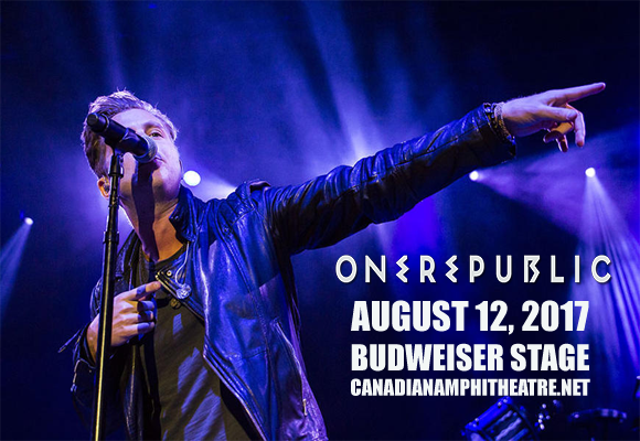 OneRepublic, Fitz and The Tantrums & James Arthur at Budweiser Stage