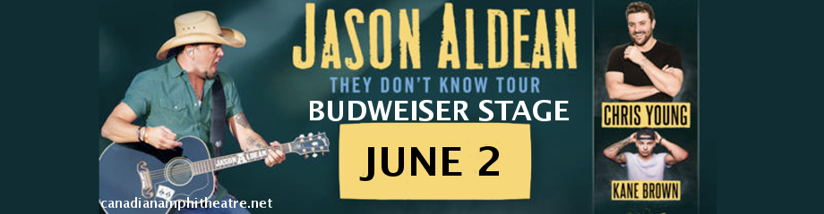 Jason Aldean, Chris Young & Kane Brown  at Budweiser Stage