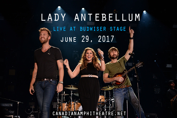 Lady Antebellum, Kelsea Ballerini & Brett Young at Budweiser Stage
