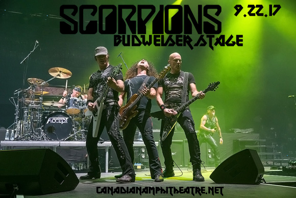 Scorpions & Megadeth at Budweiser Stage