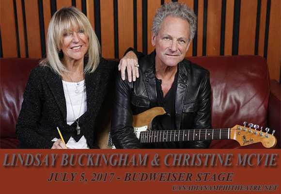 Lindsey Buckingham & Christine McVie at Budweiser Stage