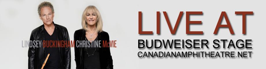 Lindsey Buckingham & Christine McVie at Budweiser Stage