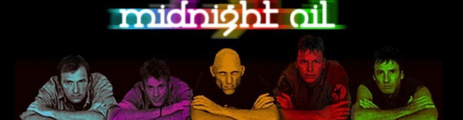 Midnight Oil at Budweiser Stage