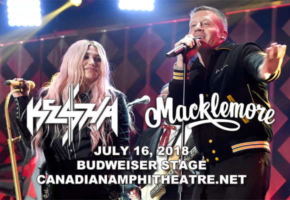Kesha & Macklemore at Budweiser Stage