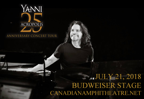 Yanni at Budweiser Stage
