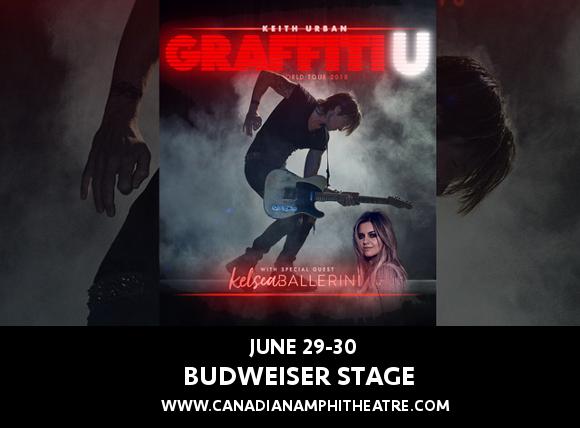 Keith Urban & Kelsea Ballerini at Budweiser Stage