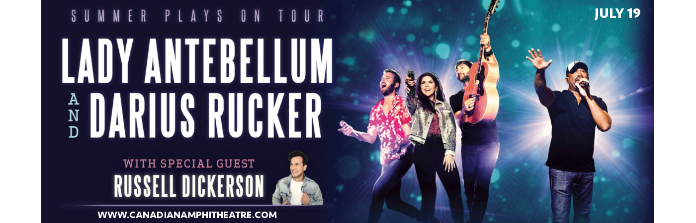 Lady Antebellum, Darius Rucker & Russell Dickerson at Budweiser Stage