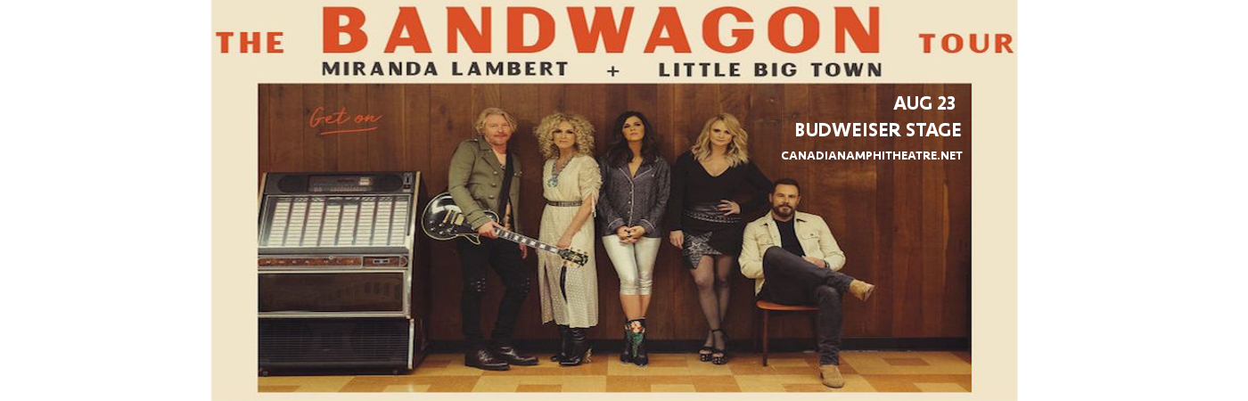 Miranda Lambert & Little Big Town at Budweiser Stage