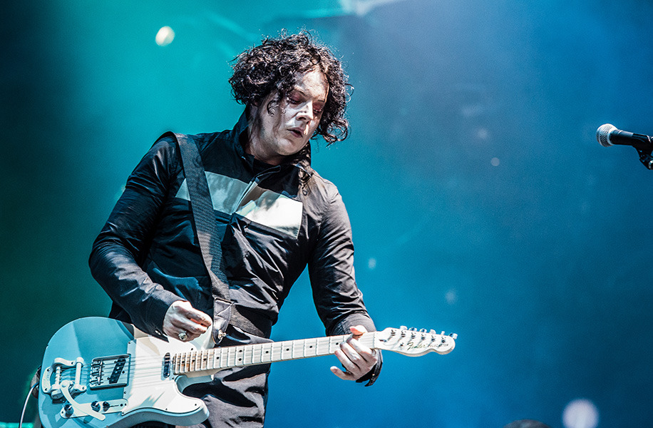 Jack White at Budweiser Stage