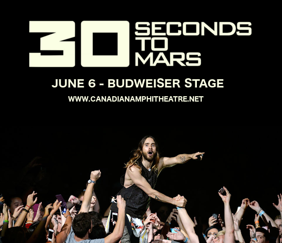 30 Seconds To Mars, Walk The Moon & MisterWives at Budweiser Stage