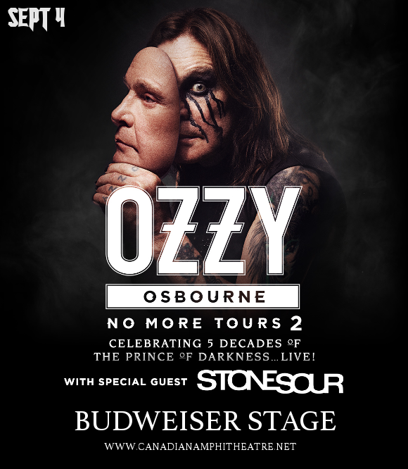 Ozzy Osbourne & Stone Sour at Budweiser Stage