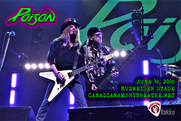 Poison & Cheap Trick at Budweiser Stage