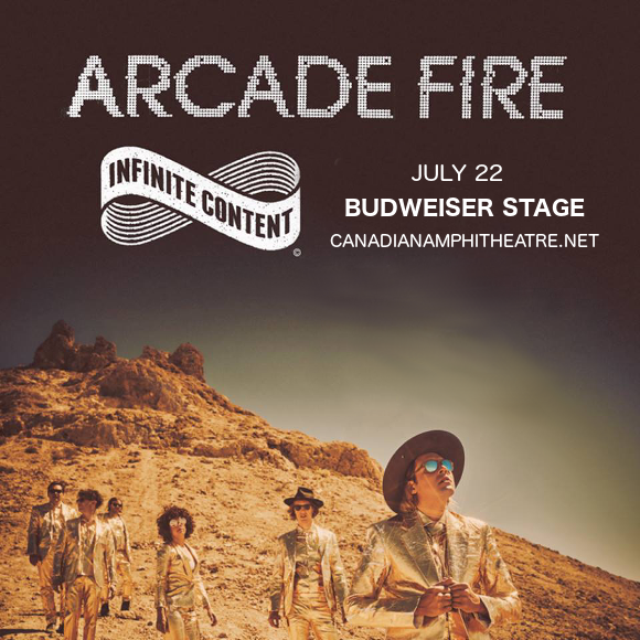 Arcade Fire at Budweiser Stage