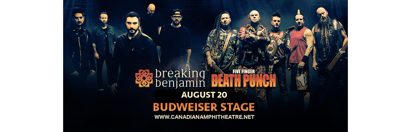 Five Finger Death Punch & Breaking Benjamin at Budweiser Stage