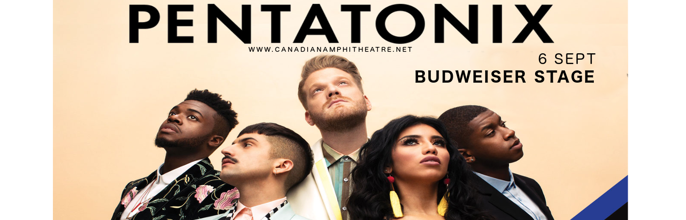 Pentatonix at Budweiser Stage