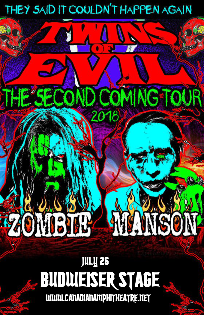 Rob Zombie & Marilyn Manson at Budweiser Stage