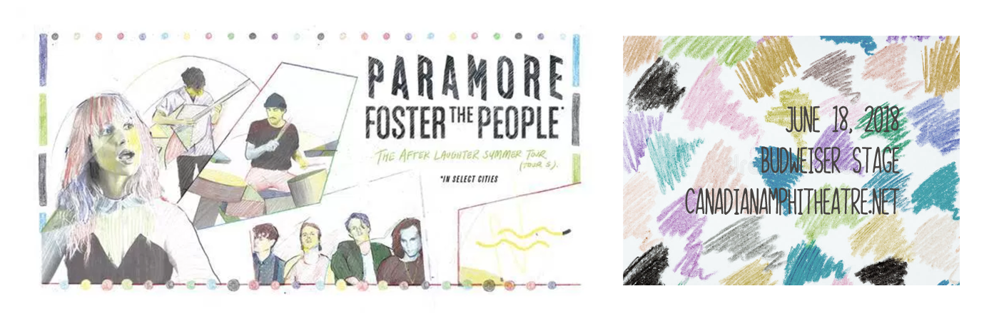 Paramore & Foster The People at Budweiser Stage