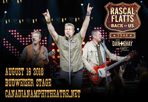 Rascal Flatts, Dan and Shay & Carly Pearce at Budweiser Stage
