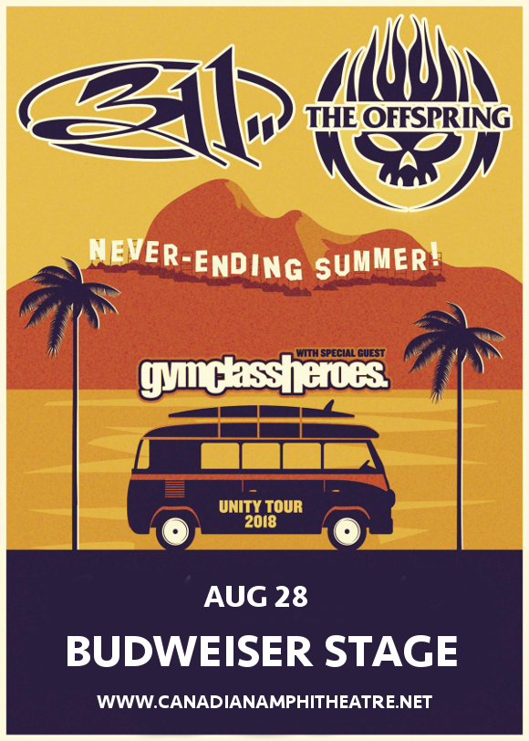 311 & The Offspring at Budweiser Stage