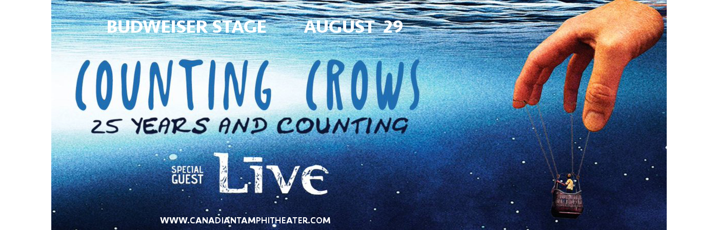 Counting Crows & Live - Band at Budweiser Stage