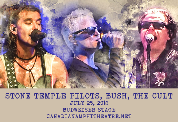 The Cult, Stone Temple Pilots & Bush at Budweiser Stage
