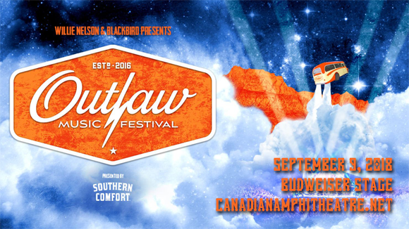 Outlaw Music Festival at Budweiser Stage