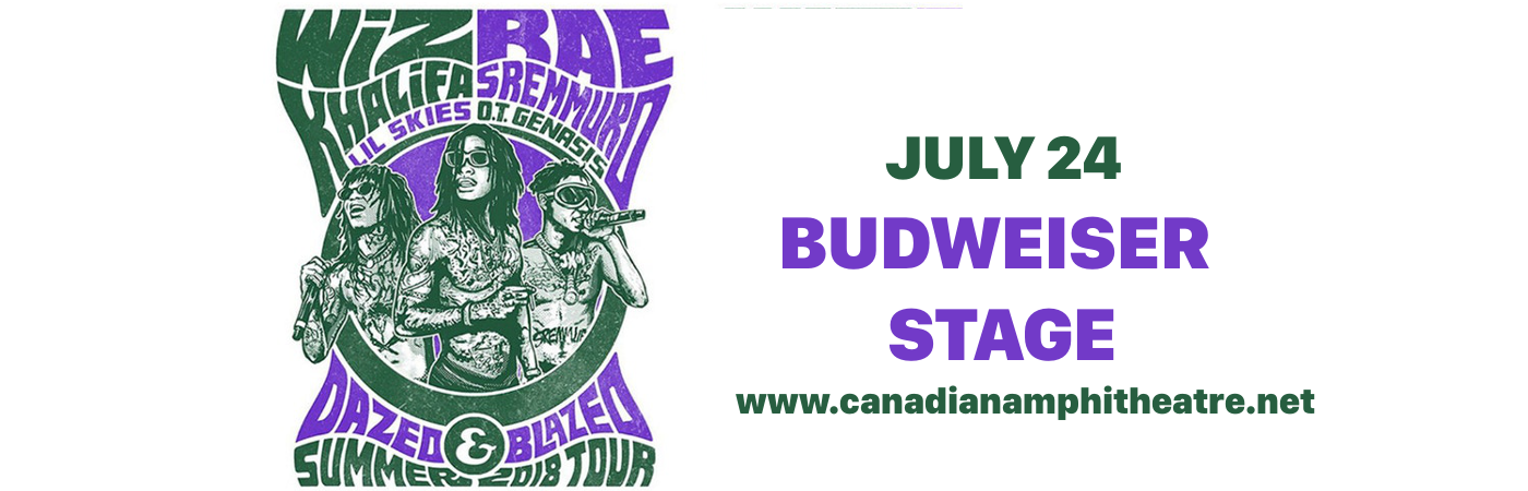 Wiz Khalifa & Rae Sremmurd at Budweiser Stage