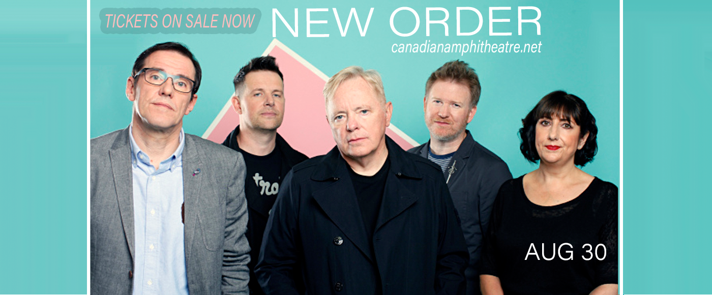 New Order at Budweiser Stage