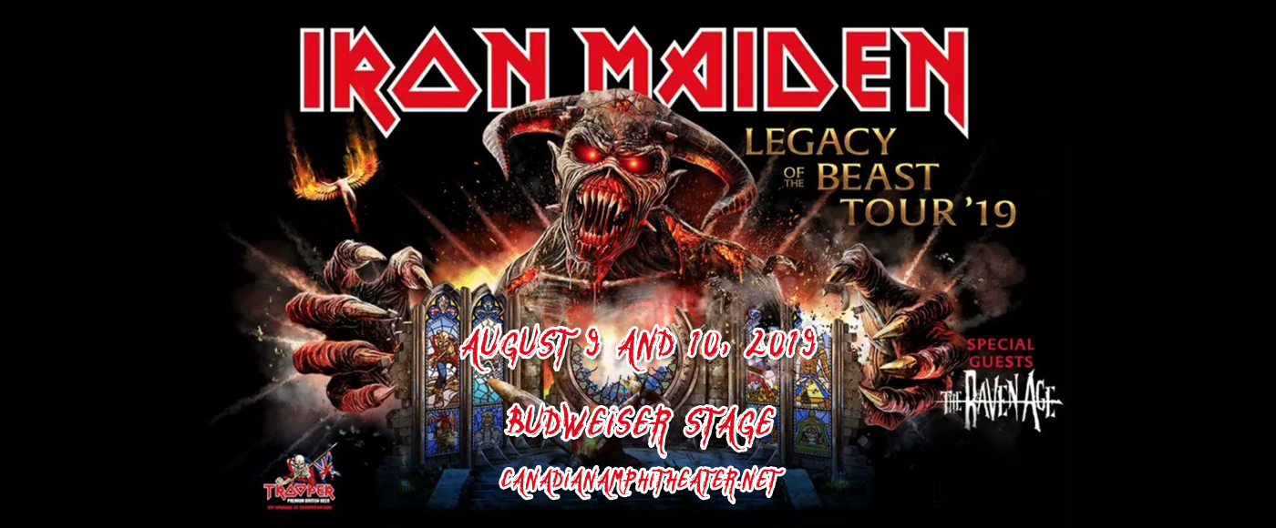 Iron Maiden at Budweiser Stage