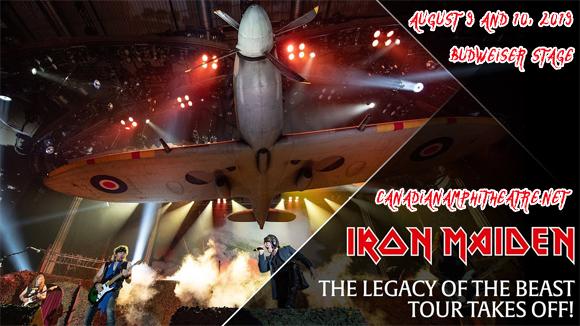 Iron Maiden at Budweiser Stage