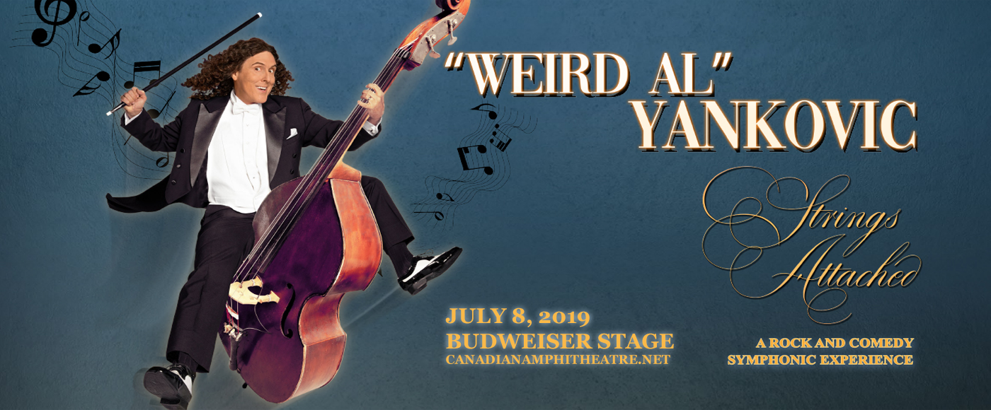 Weird Al Yankovic at Budweiser Stage