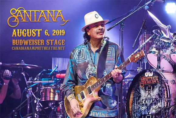 Santana at Budweiser Stage