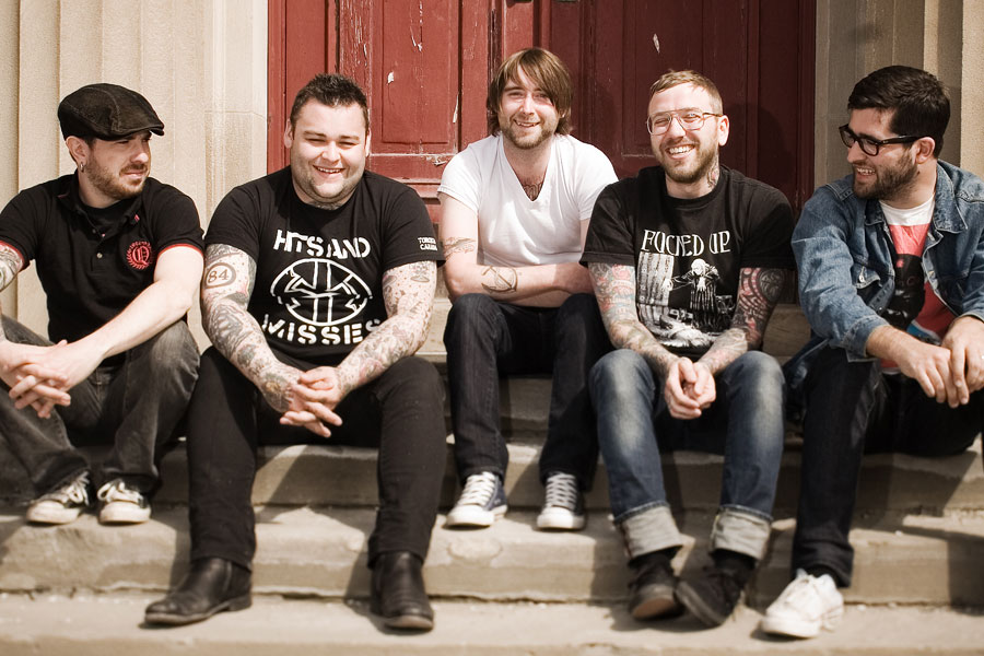 Alexisonfire at Budweiser Stage