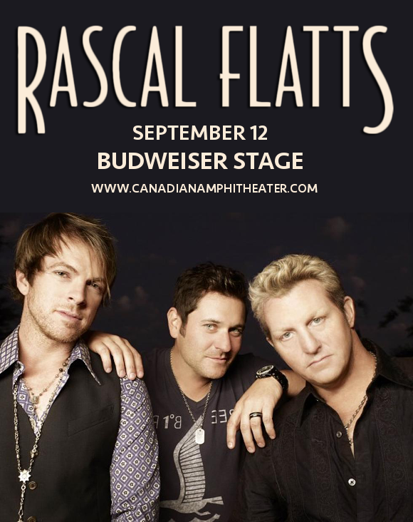 Rascal Flatts at Budweiser Stage