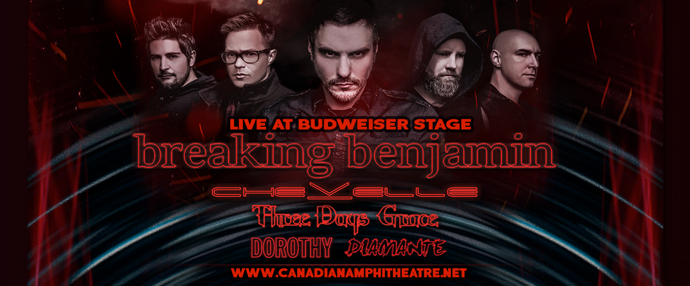 Breaking Benjamin Budweiser Stage