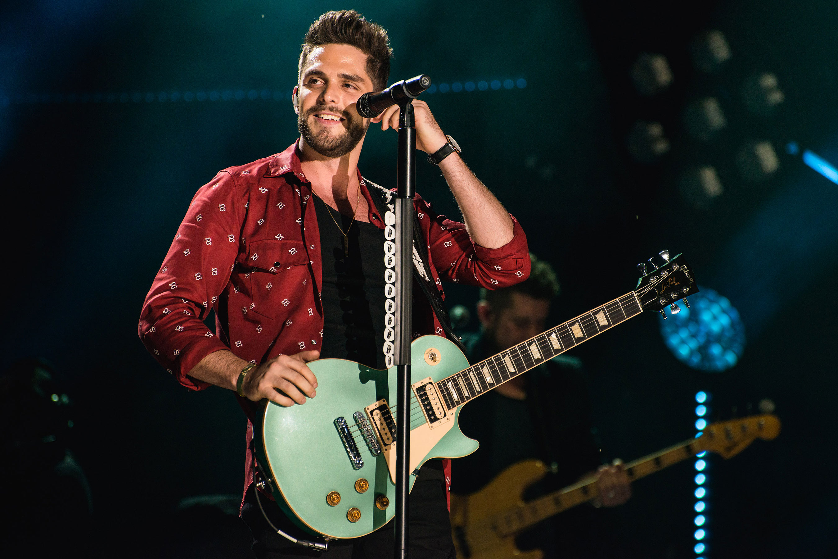Thomas Rhett, Dustin Lynch, Russell Dickerson & Rhett Akins at Budweiser Stage