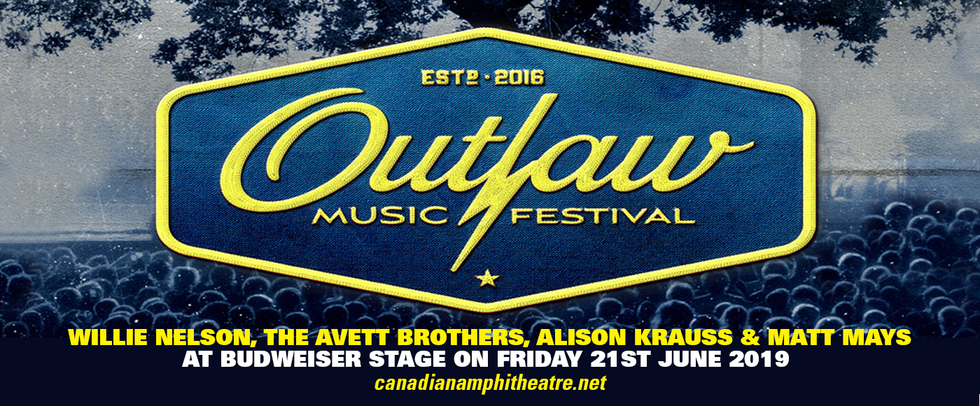 Outlaw Music Festival: Willie Nelson, The Avett Brothers, Alison Krauss & Matt Mays at Budweiser Stage