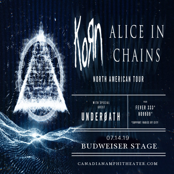 Korn & Alice In Chains at Budweiser Stage