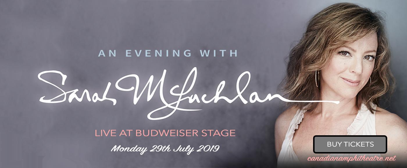 Sarah McLachlan at Budweiser Stage