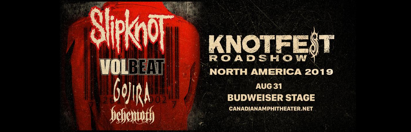 Slipknot, Volbeat, Gojira & Behemoth at Budweiser Stage