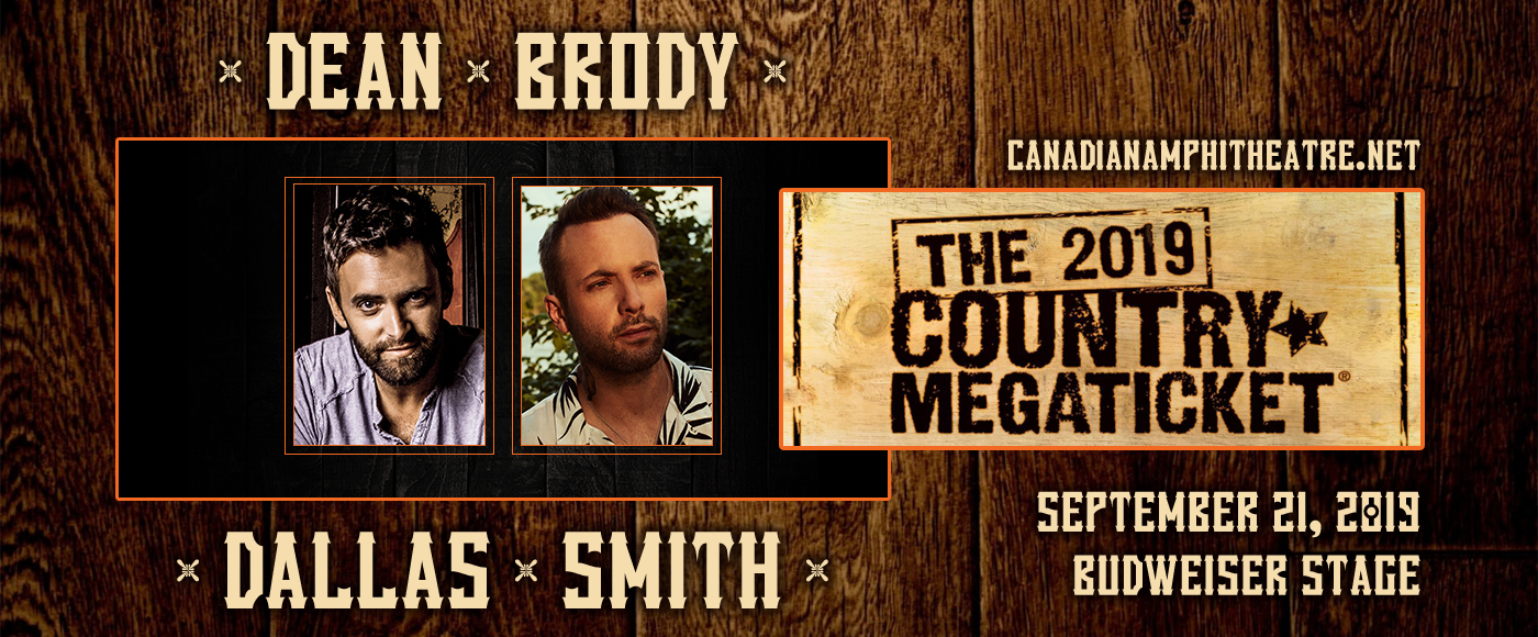 Dean Brody & Dallas Smith at Budweiser Stage