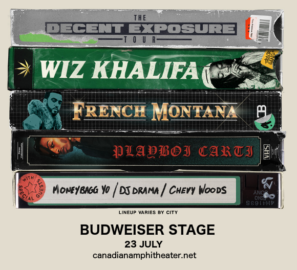 Wiz Khalifa & French Montana at Budweiser Stage