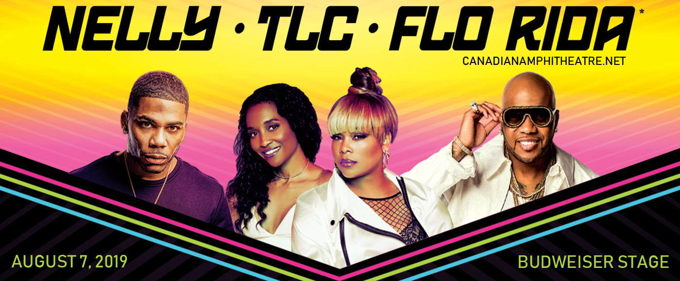 Nelly, TLC & Flo Rida at Budweiser Stage