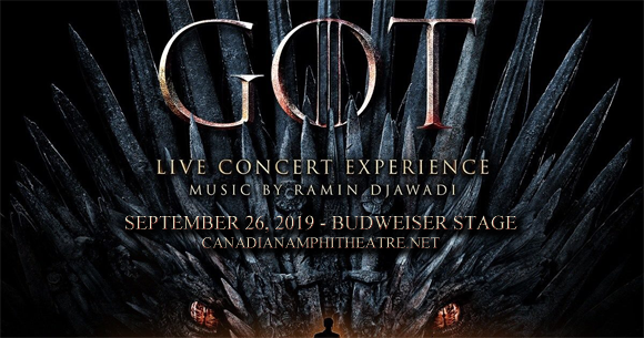 Game of Thrones Live Concert Experience at Budweiser Stage